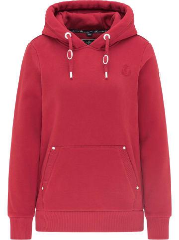 DreiMaster Maritim Hoodie in Rot