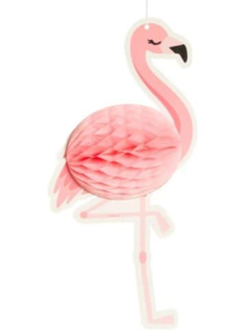 Boland Wabendekoration Flamingo zweiseitig (27 x 14 cm)