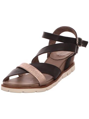 MACA Kitzbühel Sandalen/Sandaletten in schwarz