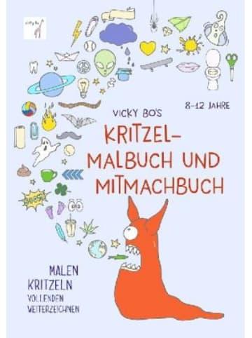 Vicky Bo Vicky Bo's Kritzel-Malbuch und Mitmachbuch