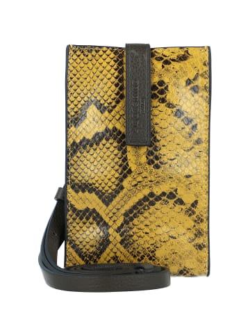 Liebeskind Turlington Snake Handytasche Leder 11 cm in dijon