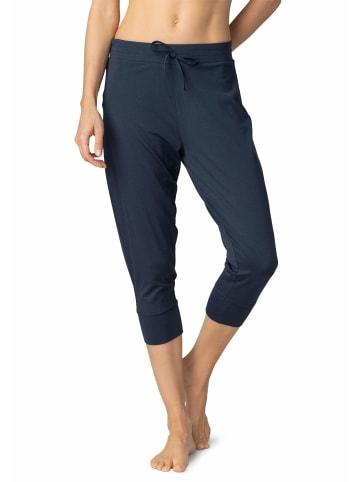 Mey 3/4 Hosen in dunkel-blau