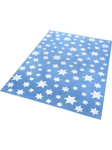 Wecon Home Teppich Jeans Star in blau