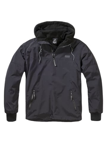Brandit Windbreaker Jacke Luke in Black