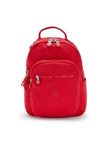 Kipling Basic Seoul S Rucksack 35 cm Laptopfach in red rouge
