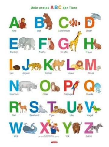 Spielend Lernen Fragenbär-Lernposter: Mein erstes ABC der Tiere