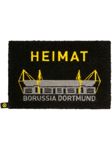 Borussia Dortmund BVB Fußmatte, 40 x 60 cm