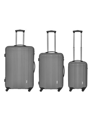 Packenger Torreto 3er-Set Reisekoffer in Grau