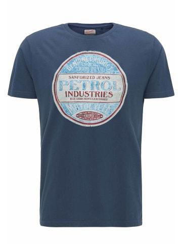 Petrol Industries T-Shirt in Stone Blue