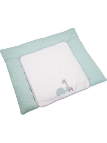 Be Be's Collection Wickelauflage groß Max & Mila, mint, 85 x 70 cm