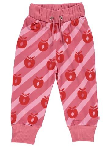 Småfolk Sweathose Apple in pink