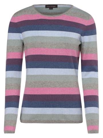 Franco Callegari Pullover in grau mehrfarbig
