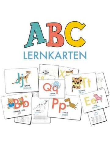 Nova MD ABC-Lernkarten der Tiere, Bildkarten, Wortkarten, Flash Cards mit Groß-...
