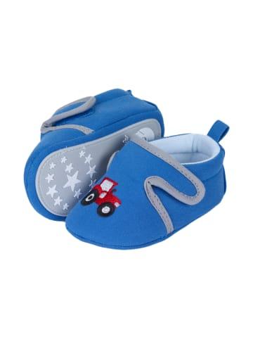 Sterntaler Baby-Krabbelschuh in blau