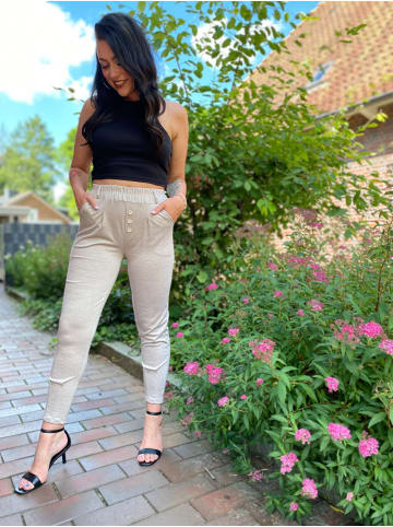 Fashion and Sports Chinohose in BEIGE