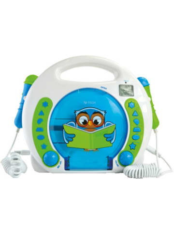 X4-Tech Kinder CD-Player Bobby Joey Lese Eule