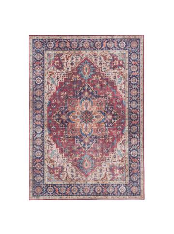 Pergamon Luxus Vintage Designer Teppich Primus Orient in Beige Braun