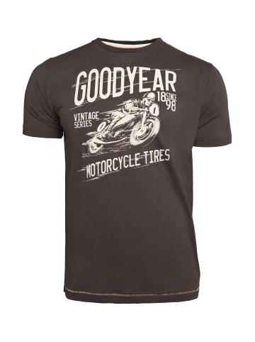 GOODYEAR T-Shirt ALAMOGORDO in Anthracite