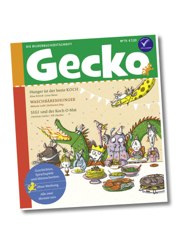 """Gecko Kinderzeitschrift Einzelheft """"Gecko Kinderzeitschrift"""" Nr.73"""