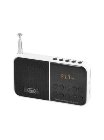 Trevi FM Radio mit micro SD in weiß
