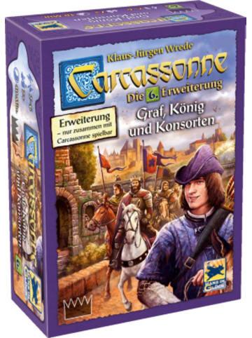 Hans im Glück Carcassonne - Graf, König und Konsorten, Erweiterung 6