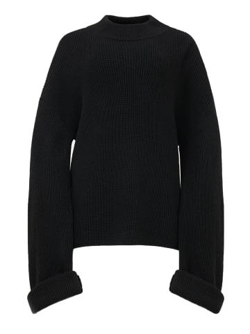 TOPTOP STUDIO Pullover Pullover in schwarz