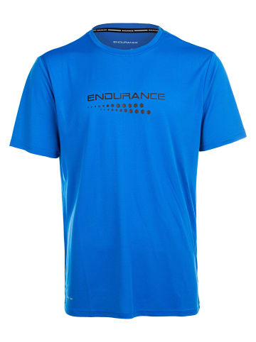 Endurance Funktionsshirt CARBONT M S/S Tee in 2146 Directoire Blue