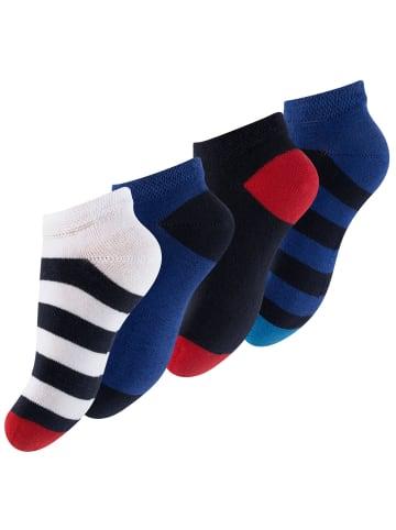 """Cotton Prime® Kinder Sneaker Socken """"Maritim"""" 8 Paar in Bunt"""
