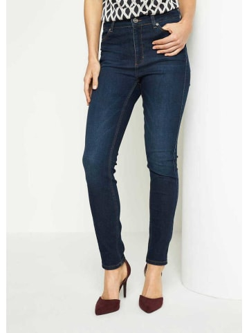 Comma Slim Fit Jeans in hell-blau