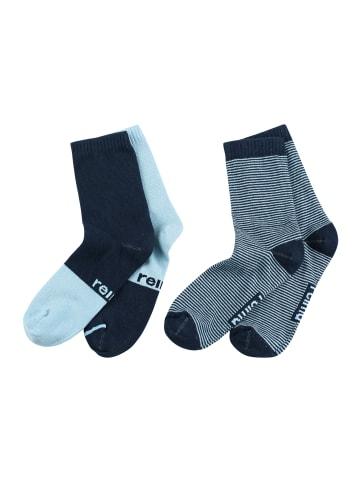 "Reima 2er Pack Socken "" My Day "" in Marine"