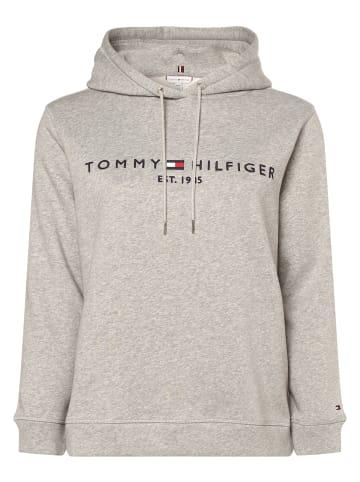 Tommy Hilfiger Curve Kapuzenpullover in grau