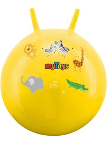 MyToys Hüpfball Zootiere, gelb