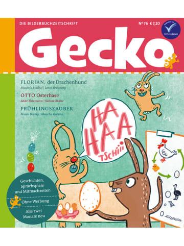 """Gecko Kinderzeitschrift Einzelheft """"Kinderzeitschrift Nr. 76"""""""
