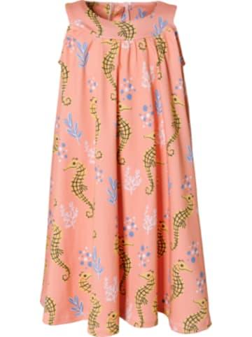 Walkiddy Kinder Jerseykleid mit Seepferdchen-Motiv, Organic Cotton