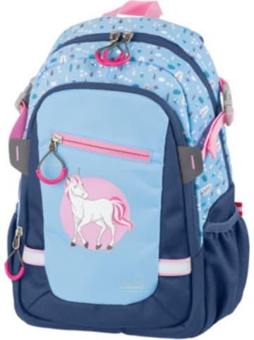 SCHNEIDERS Kinderrucksack KIDS BACKPACK Unicorn blau