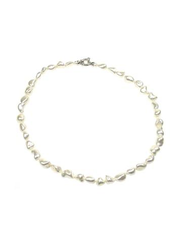 Perlas Orquidea  Perlenkette Althea Necklace in weiß