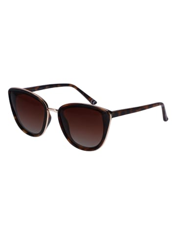 TOSH Sonnenbrille mit Schildpatt-Optik in BROWN