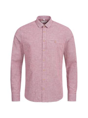 Gweih&Silk Trachtenhemd in Rot