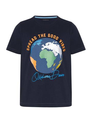 Oklahoma Premium Denim T-Shirt in 19-3924 Night Sky