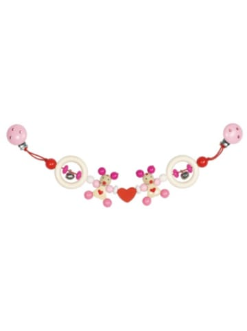 HEIMESS Kinderwagenkette Maus (rosa)