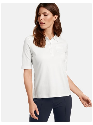 Gerry Weber Polo 3/4 Arm in Weiss