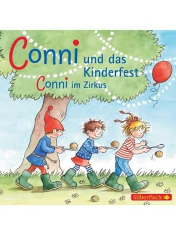 Silberfisch Meine Freundin Conni, Conni und das Kinderfest / Conni im Zirkus, 1 Audio-CD