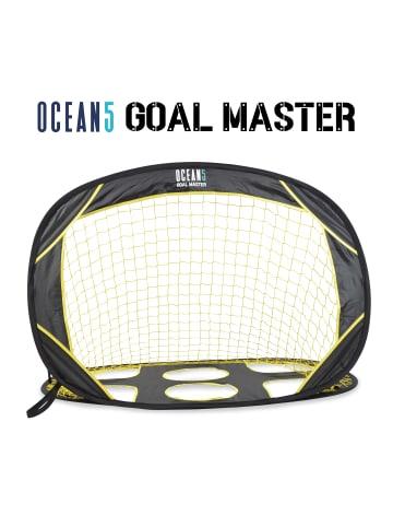 "Ocean 5 Mini Fußballtor "" 2 in 1 Pop-Up Goal Goal Master "" in gelb/schwarz"
