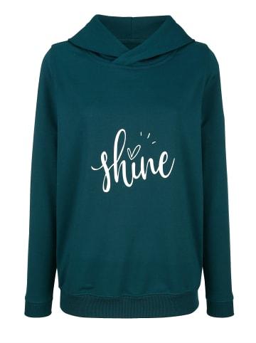 Basically you Sweatshirt in Tannengrün