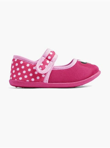 MINNIE MOUSE Hausschuh pink
