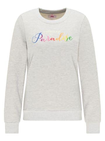 MyMo Sweatshirt in Grau Melange