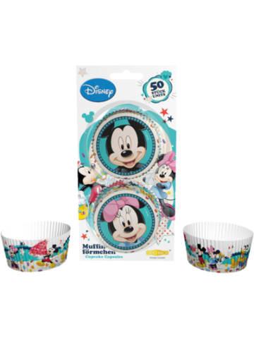 Dekoback Muffinförmchen Mickey & Minnie Mouse, 50 Stück