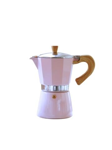 Gnali&Zani Espressokocher Venezia in rosa - 6 Tassen