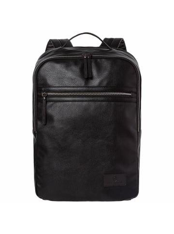 VON HEESEN Rucksack in schwarz