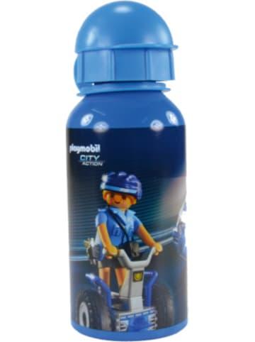 United Labels AG Alu-Trinkflasche Playmobil Polizei, 400 ml